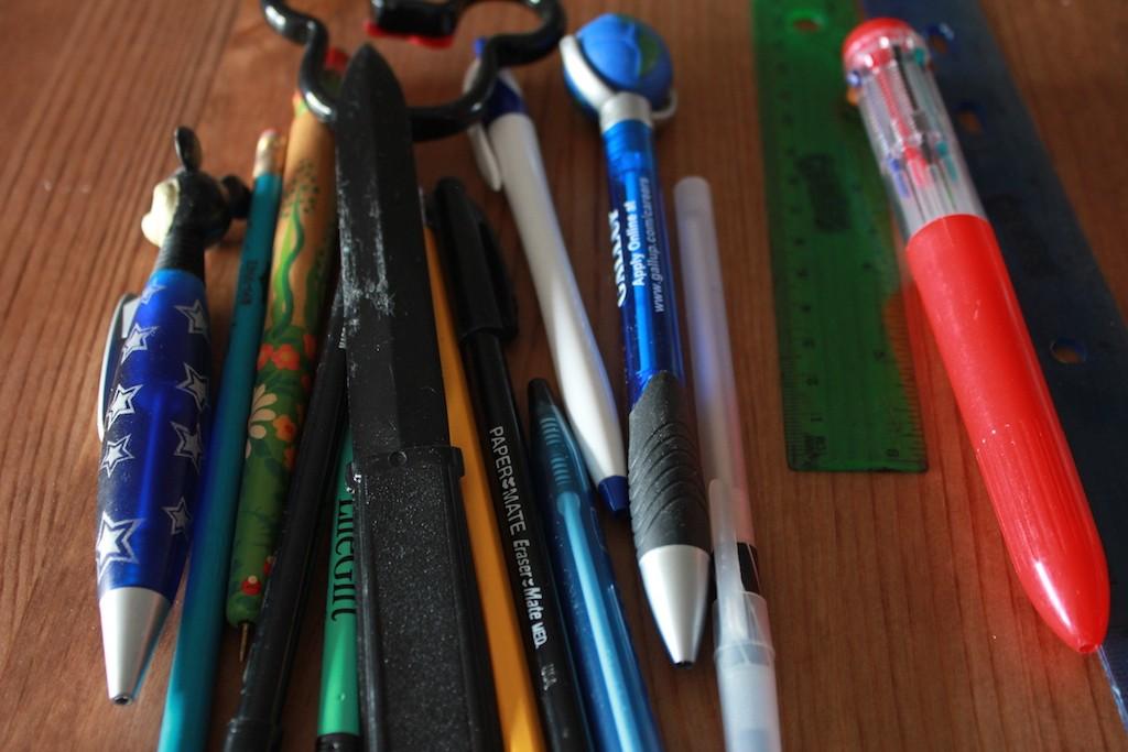Pens, pens, pens!
